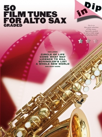 50 Graded Film Tunes: Alto Saxophone  (dip In)