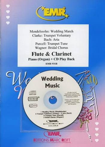 Wedding Music: Flute and Clarinet