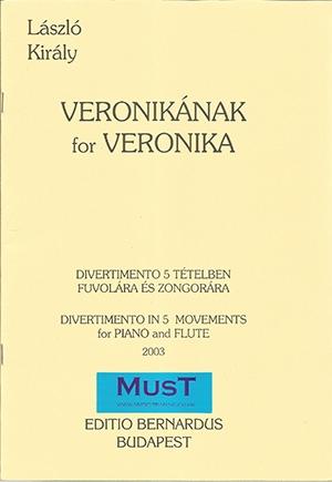 For Veronica: Divertimento In 5 Movements: Flute & Piano