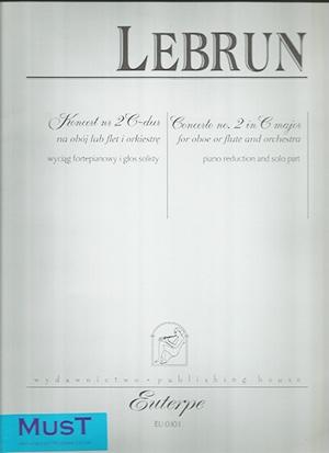 Concerto No2 in C Major: Flute & Piano (Peters)