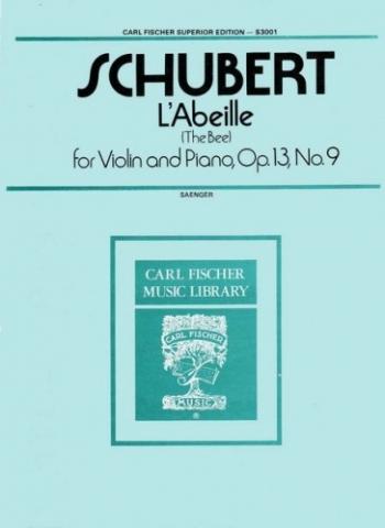 The Bee Op.13/9: Violin & Piano