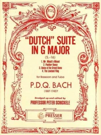 Dutch Suite: Bassoon & Tuba