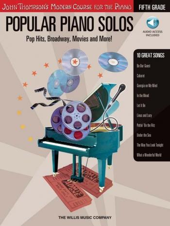 John Thompson's Modern Piano Course: Popular Piano Solos - Fifth Grade Book & CD