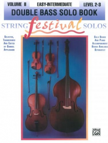 String Festival Solos: Vol.2: Double Bass