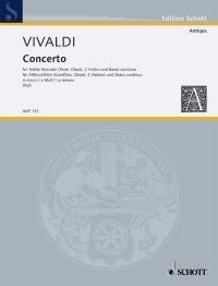 Concerto A Minor RV108/PV77: Treble Recorder And Piano