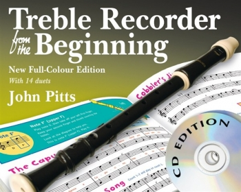 Treble Recorder From The Beginning: Book 1: Pupils Book & Cd Revised Edtion (pitts)