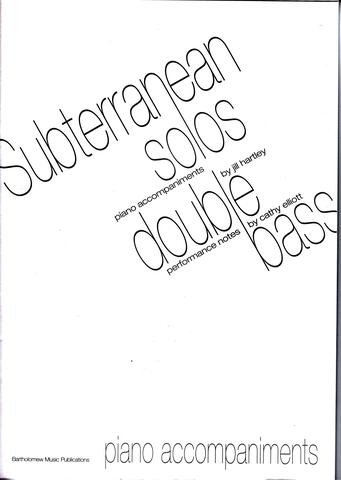 Subterranean Solos: Piano Accompaniment