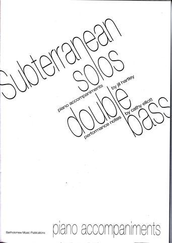 Subterranean Solos: Piano Accompaniment
