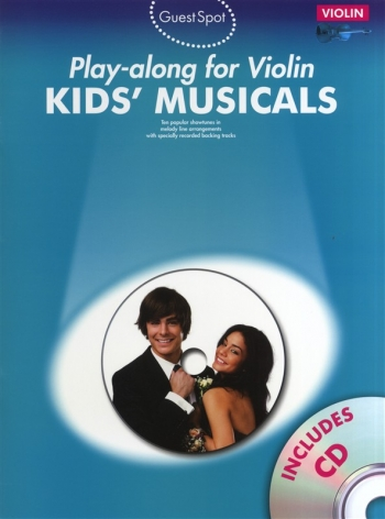 Guest Spot: Kids Musical: Violin: Book & CD