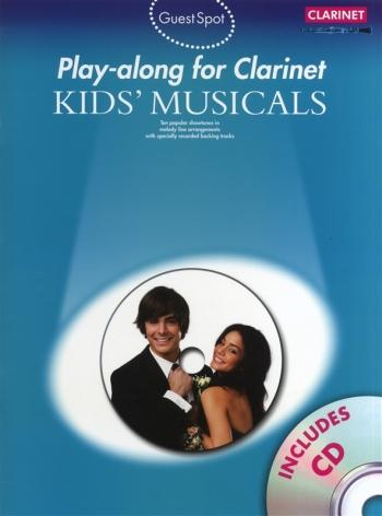 Guest Spot: Kids Musical: Clarinet: Book & CD