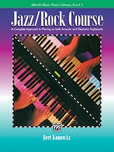 Alfreds Basic Jazz: Rock Course: Lesson Book: Level 1