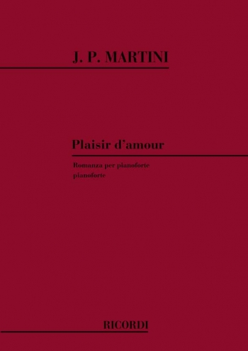 Plaisir Damour: Piano Solo (Grade 8 Level)