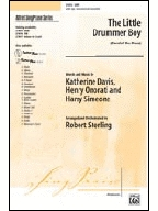 The Little Drummer Boy: Vocal: SATB (Sterling)