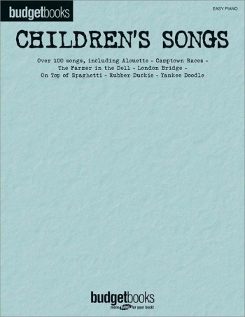 Budget Books Childrens Songs