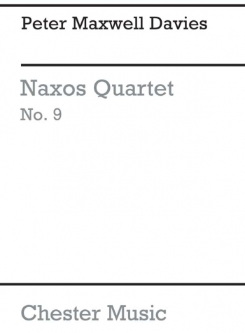 Naxos Quartet No 9: Miniature Score