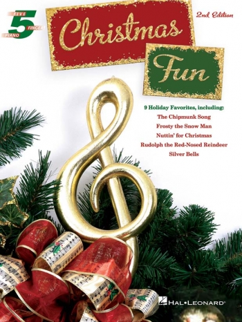 Christmas Fun: 5 Finger Piano: Piano & Vocal