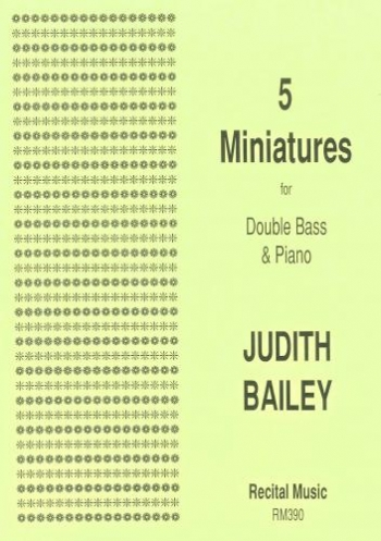 5 Miniatures: Double Bass