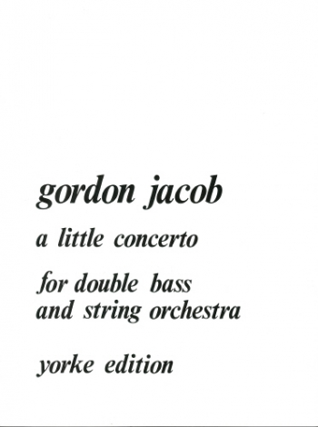 A Little Concerto: Double Bass (Yorke)