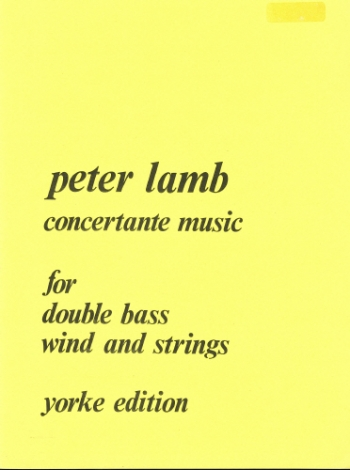Concertante Music: Double Bass (Yorke)