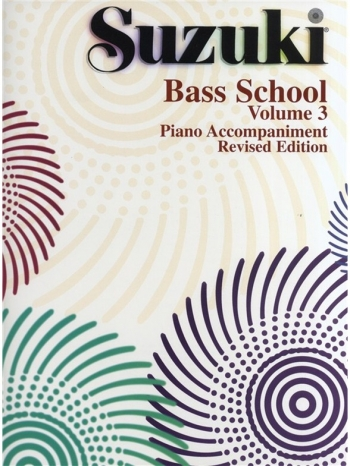 Suzuki Double Bass School Vol.3 Piano Accompaniment ( Revised)
