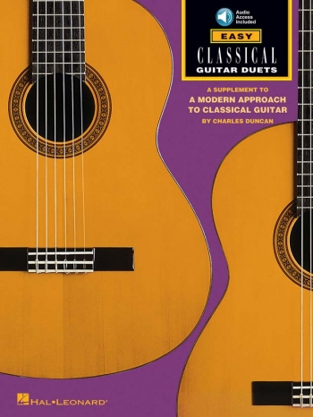 Easy Classical Guitar Duets (Duncan)