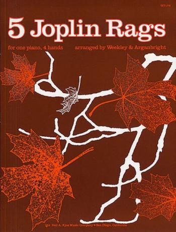 5 Joplin Rags Piano Duet