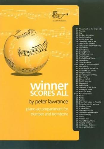 Winner Scores All: Trumpet & Trombone Piano Accompaniment