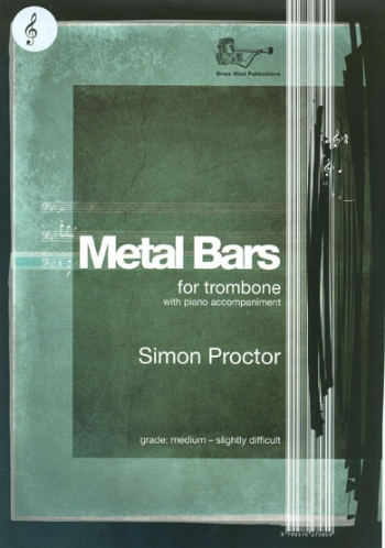 Metal Bars: Trombone TC  And Piano Accompaniment (Brasswind)