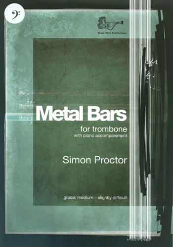 Metal Bars: Trombone BC  And Piano Accompaniment (Brasswind)