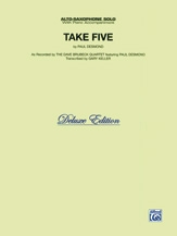 Take Five: Alto Saxophone With Piano Accompaniment Sheet