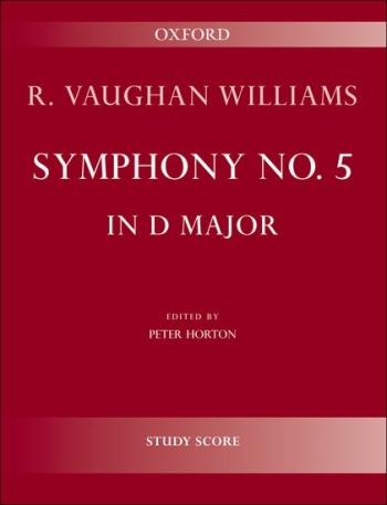 Vaughan Williams: Symphony: No 5: D Major: Study Score