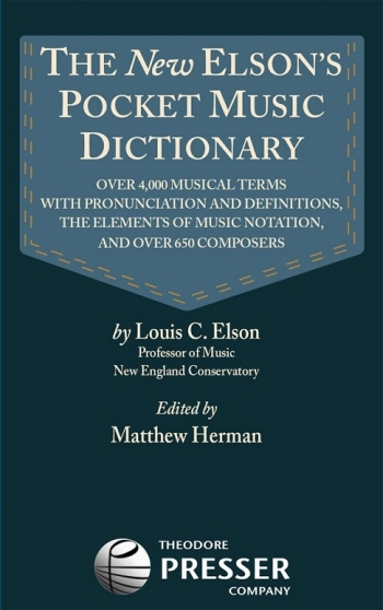 The New Elson Pocket Music Dictionary