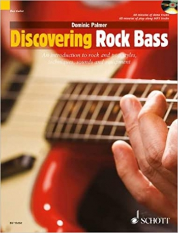 Discovering Rock Bass: Introduction To Rock And Pop: Book & CD