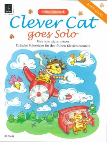 Clever Cat: Goes Solo: Easy Solo Piano Pieces: Easy Level