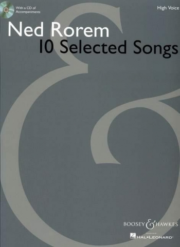 10 Selected Songs: Vocal: High Voice: Book And Cd (B&H)