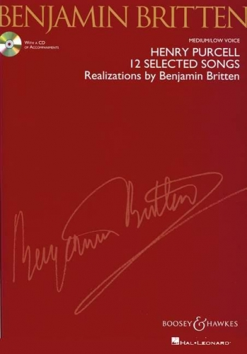 12 Selected Songs: Vocal: Medium/Low Voice: Book And Cd