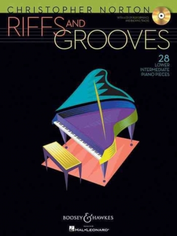 Riffs And Grooves: 28 Intermediate Pieces: Piano