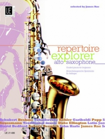 Repertoire Explorer: Alto Saxophone  & Piano: Graded Pieces 1-3 (Rae)