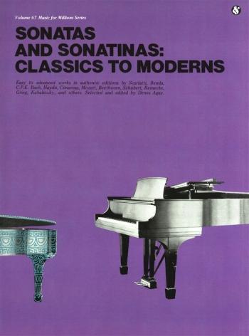 Classics To Moderns: Sonatas And Sonatinas: Piano: Classical: Various (Agay)