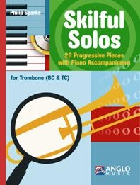 Skilful Solos: Trombone (bass Clef And Treble Clef) Book & Cd (sparke)