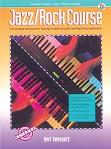 Alfred Basic Jazz/Rock Course: Lesson BooK: Level 1: Book & Cd