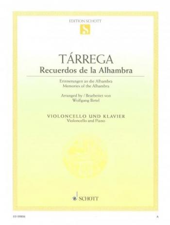 Memories Of Alhambra: Cello