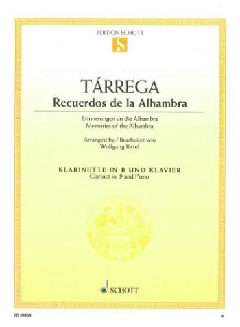 Memories Of Alhambra: Clarinet & Piano