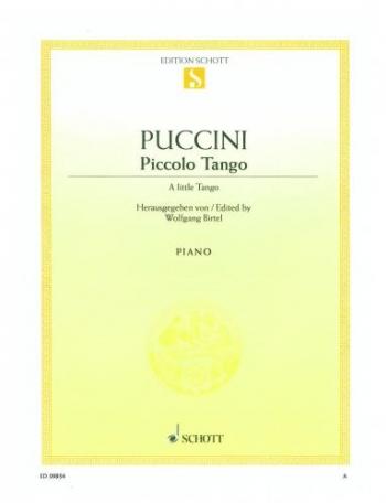 Piccolo Tango: A Little Tango: Piano (Schott Ed)