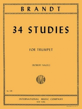 34 Studies For Trumpet ( Arr Nagel)  (International)