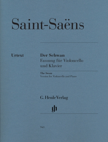 The Swan: Der Schwan: Cello And Piano (Henle)
