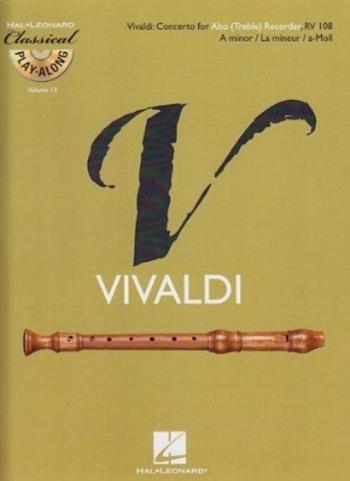 Concerto : A Minor: RV108: Treble Recorder (De Haske)