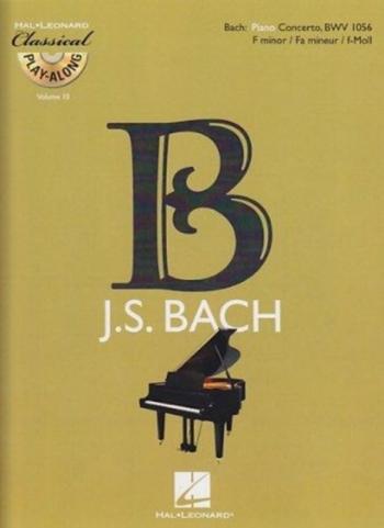 Concerto F Minor BWV1056: Piano (Classical Playalong) (De Haske)