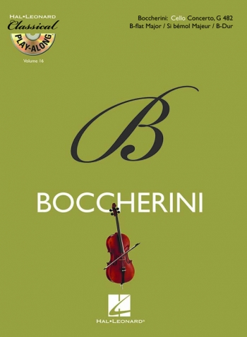 Cello Concerto Bb Major G482: Cello (Classical Playalong): Book & CD (De Haske)