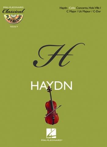 Concerto: C Major: Hob 7b No 1: Moderato And Adagio: Cello (Classical Playalong): Book & CD